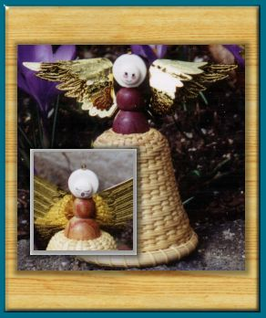 Nantucket  Angel Ornaments